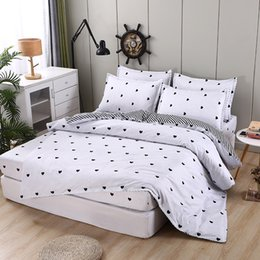$enCountryForm.capitalKeyWord Australia - Bedding Sets Queen Size Bedding Sets Cotton Bed Sheets 4pcs Comforter Bed Comforters Sets