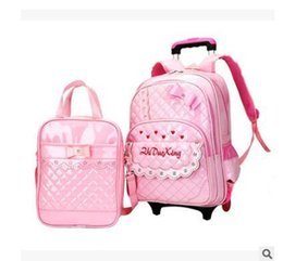 $enCountryForm.capitalKeyWord Australia - Student Trolley School Backpack Bag Kid's Luggage Rolling Bags Wheeled Backpacks For Girls School Bag On Wheels For Children