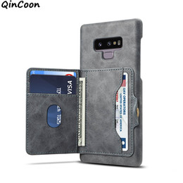 Multi Wallet Case NZ - Multi Card Phone Case for iPhone XS Max XR X 8 7 plus Samsung Galaxy S9 plus Note 9 Wallet Case Cover for Huawei P20 lite pro