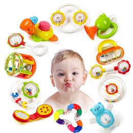Infant Development NZ - Baby Rattles Toys Newborn Hand Bells Baby Toys 0-12 Months Teething safe Development Infant Early Educational Baby Rattles Toys