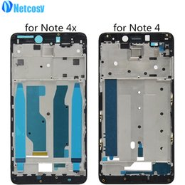 $enCountryForm.capitalKeyWord Australia - LCD Housing Plate Frame Bezel Housing Cover Front A Frame Board for XiaoMi Redmi Note 4 4x Note4 Note4x Middle frame