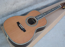 Acoustic guitAr online shopping - 41 quot Acoustic Guitar with Colorful Abalone Binding Flower Inlay Rosewood Fingerboard Offer Customized