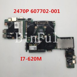 I7 Socket Australia - High quality For 2740 P Laptop motherboard 607702-001 607702-501 607702-601 With I7-620M CPU 100% full Tested