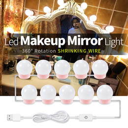 dimmer switches for lamps NZ - Vanity Table Light Led Makeup Mirror Lamp Touch Dimming Mirror Wall Lamp for Bedroom Bathroom Dressing Make Up Beauty Lighting