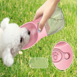 $enCountryForm.capitalKeyWord Australia - New pets accompanying cups multicolor outdoor portable travel bottle lock water does not leak dog drinking fountains factory direct sales