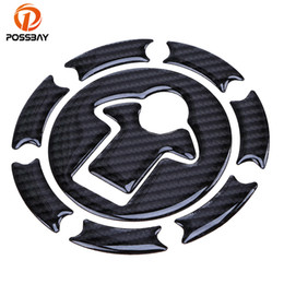 $enCountryForm.capitalKeyWord Australia - POSSBAY Motorcycle Fuel Tank Pad Decal Protector Stickers Decals Carbon Fiber For DUKE 390 200 Motocross Oil Tank Cap Covers