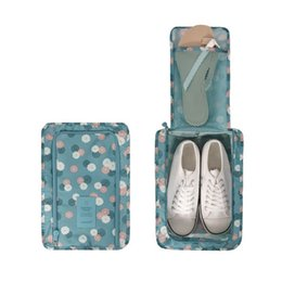 $enCountryForm.capitalKeyWord Australia - 2019 Hot sales Travel Storage Bag Fold Waterproof Zipper Organizer Bag For Clothing Underwear Socks Shoes Storage Bag Housekeeping