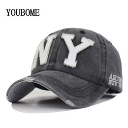 $enCountryForm.capitalKeyWord Australia - YOUBOME New Washed Cotton Baseball Cap Men Snapback Cpas Hats For Women Dad Hat Bone Embroidery Casual Casquette Hip Hop Sun Cap