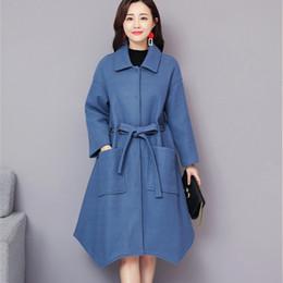 6945640b73a Plus Size 5XL Women Winter Wool Long Cape Coat 2018 Vintage Elegant Clothes  Loose Fashion Korean Cape Coat