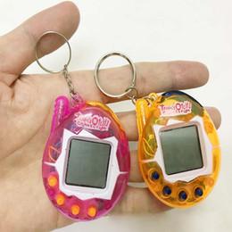 Bluetooth Toys Australia - New Tamagotchi Digital Pets Nostalgic Virtual Cyber E Pet Electronic Retro Game Toys Kids Adult keychain Pets Tamagochi Retro Game egg Toy
