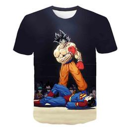 Yellow tshirt boYs online shopping - Newest Dragon Ball T Shirt Super Saiyan Dragonball Z Dbz Son Goku Tshirt Vegeta T shirt Men Boys Tops Shirt