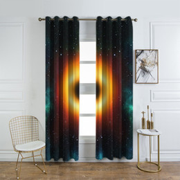 $enCountryForm.capitalKeyWord Australia - Black Hole Space Shower Curtain Galaxy with Stars and Black Hole Mysterious Celestial Magic Astral Universe View Fabric Curtains