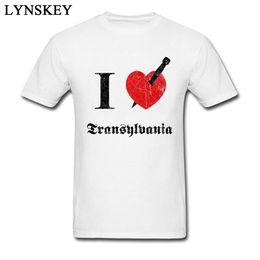 $enCountryForm.capitalKeyWord Australia - Custom I love Transylvania Summer Tops Shirt Design Crewneck 100% God Tee Shirts Men's Top T-shirts