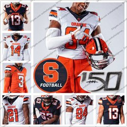 buffalo bills jerseys Canada - Custom Syracuse Orange 2019 New Football Jersey Any Name Number 14 Anthony Queeley 32 Allen Stritzinger 64 Colin Byrne 75 Sam Heckel