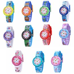 Teenagers waTches online shopping - Cartoon Kids Wristwatch Soft Silicone Dinosaur Unicorn Watchband Watches Students Teenager Fashion Quartz Wristwatches Children Gifts