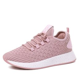 Wholesale New Stylish Breathable Woman Running Shoes Height Increasing CM Light Comfortable Female Outdoor Sport Sneakers Size