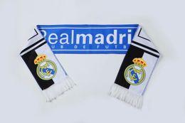 Soft fan online shopping - New Soccer Fans Scarf Soft Football Scarfs Gift For Psg Real Madrid messi M SALAH PEPE KANE Football Soccer Cheerleaders Scarves