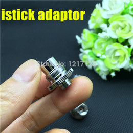 $enCountryForm.capitalKeyWord Australia - istick assy istick adapter 510 ego thread connector e cig mod adaptor fit eleaf istick mini 10w 20w 30w 50w batteries mod
