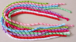 50pcs corker curly tassel grosgrain ribbon streamer curl korker fit DIY Dress shoes hat headwear Hair bows clips bobbles Accessories D021 on Sale