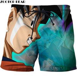 Magic Anime Beat 3d Printed Beach Shorts Men Casual Board Shorts Plage Quick Dry Shorts Swimwear Streetwear Dropship Zootop Bear Men's Clothing