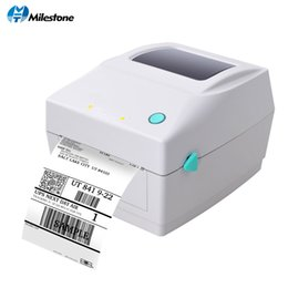 Clothes Card Australia - Milestone Barcode Printers Clothing Label Support 20mm~108mm Width Printing Electronic Surface by Thermal Bar Code Label Printer