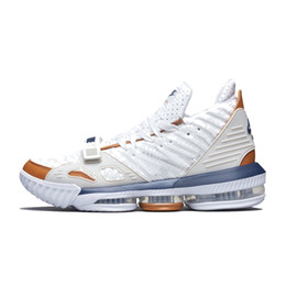 size 40 a0c76 78990 Cheap mens lebron 16 low basketball shoes for sale Black Gold Tan Red White  Grey Multi youth kids new lebrons sneakers with box size 7 12