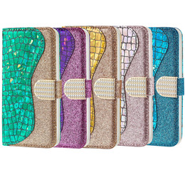 card wholesalers NZ - Applicable For iphone XSMax X XS XR mobile phone case For iphone 7plus 8plus 6 6splus leather case crocodile skin flash card cell phone case