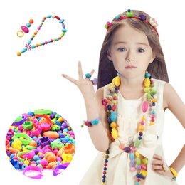 $enCountryForm.capitalKeyWord Australia - 70 260Pcs Beads Jewelry DIY Necklace Bracelet Rings Set Kids Gifts Toy New Fashion 70 260Pcs Beads Toy