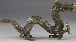 $enCountryForm.capitalKeyWord Australia - Art Bronze home decoration Folk Culture Brass Handwork Hammered Chinese Copper Dragon Exorcism Oriental Statue Big Decor Na