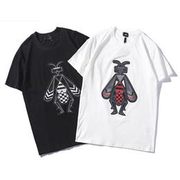 Mens Patterned Tees Australia - Luxury Designer T Shirts for Men Women Fashion Brand Tees Animal Embroidery Pattern Mens Womens Clothing Short Sleeve Tshirt Casual Tee