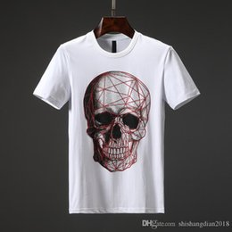 $enCountryForm.capitalKeyWord Australia - European fashion high quality 19 mercerized cotton fabric T-shirt summer logo skateboard T-shirt shirt men's and women's street co