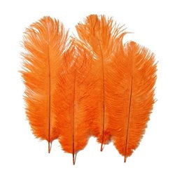 $enCountryForm.capitalKeyWord Australia - 100pcs White Ostrich Feather 25-30cm(10-12inch) Ostrich Feather Plume Craft Supplies Wedding Party Table Centerpieces Decoration Many Colors