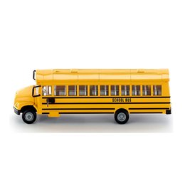toy car model buses UK - Export German alloy toy car model American school bus school bus alloy car model Free Shipping Hot Sale