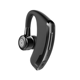$enCountryForm.capitalKeyWord UK - P9 Business Bluetooth Headset with Mic Voice Control Handsfree Wireless Bluetooth Earphone Headphone for IOS Android PK V9