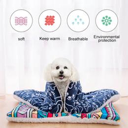 $enCountryForm.capitalKeyWord Australia - Big Dog Pet Mat Bed House Cat Mattress Dog Bed Sofa Washable For Small Medium Large Washable Coral Velvet Soft Mat For Puppy