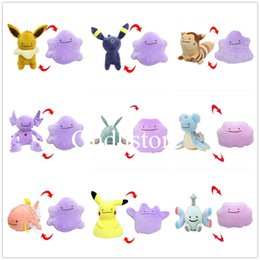 Video red online shopping - Hot New Styles quot CM Ditto Metamon Sableye PKC Furret Eevee Lapras Magikarp Snorlax Umbreon CM Inside Out Cushion Plush Doll Toy