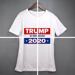 trump t shirts Australia - women Donald Trump Train 2020 T-Shirt O-Neck Short Sleeve Shirt USA Flag Keep American Great letter Tops Tee Shirt LJJA3834