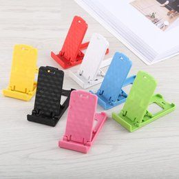 $enCountryForm.capitalKeyWord Australia - phone kickstand universal mini portable foldable colorful four block adjustable desk holder for phone and tablet