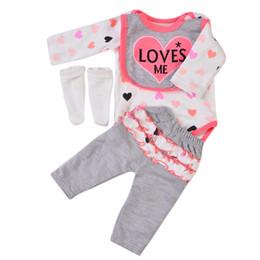 8aa8621ba84 Reborn Baby Dolls Clothes UK - Wholesale 22-23 Inch Cartoon Reborn Baby Doll  Clothes