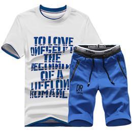 Summer Sportswear Suit Australia - Men's Sportswear Track Suit New Arrival Casual Suit Men Summer Shorts Sets Fashion Sweatshirts Brand Chandal Hombre #D03