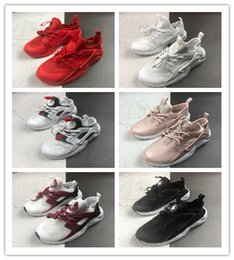 $enCountryForm.capitalKeyWord Australia - 2019 New Baby Air Huarache Run 4 Kids Running Shoes Children Trainers toddler athletic Small big boys & girls Infant Toddler sneaker 108
