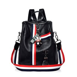 $enCountryForm.capitalKeyWord Australia - Hot Sale Women Backpacks Ladies sports Fashion tassel big large capacity School Bags Casual Tote Versatile Crossbody Girls Shoulder Backpack