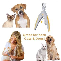 Dog Claw Cutters Australia - Pet Dog Cat Nail Cutter Claw Toe Clippers Grinders Trimmers Grooming Scissors Toe Care Stainless Steel Nailclippers AAA1835