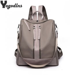 $enCountryForm.capitalKeyWord Australia - Preppy Style Fashion Oxford School Backpacks Waterproof Women Large Capacity Knapsack For Teenagers Shoulder Bag Travel Bag Y19061102