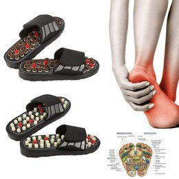 slippers flat feet 2019 - 2019 New Style Women Men Foot Massage Therapy Activation Care AdjustableSandal Slippers Shoes dropshipping discount sli