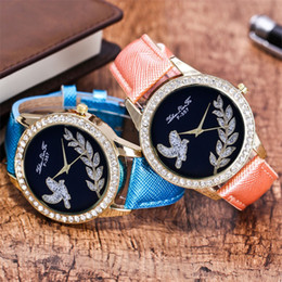 Glasses Straps Australia - Fashion vintage wrist watches for women leather quartz Casual Ladies Watch Glass Mirror Leather Strap Quartz Watch#P6