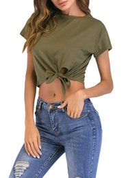 Fashion Sexy Black Bow Off The Shoulder Crop Tops For Women Summer T Shirts Summer 2019 Tee Shirt Femme Tops & Tees