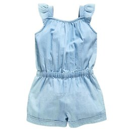 plaid suspender dress UK - Summer Toddler Girls Kids Floral Overall Sleeveless Romper Jumpsuit Playsuit Dress Clothes Size 2-6Y