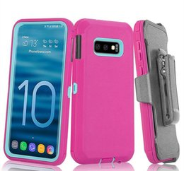 $enCountryForm.capitalKeyWord Australia - Defender Armor Case For Samsung Galaxy S8 S9 S10e Plus Lite Crash-proof Hybrid Waterproof Phone Cover