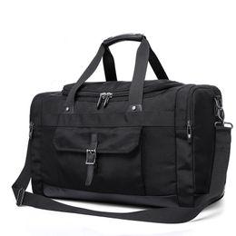 $enCountryForm.capitalKeyWord UK - Winmax Pocket Gym Bag Fitness Travel Bags Large Capacity Handbag Tote Luggage Men for Fitness Black Sports Duffle Bags Gym Pack